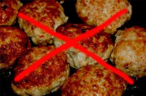 Отказ от жареных блюд - профилактика рака