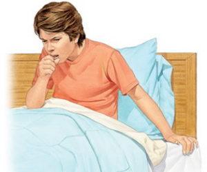 Болезненный кашель - симптом аденокарциномы
